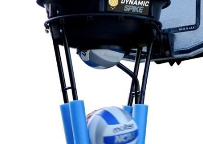 Close-up of the DynamicSpike Volleyball hitting trainer
