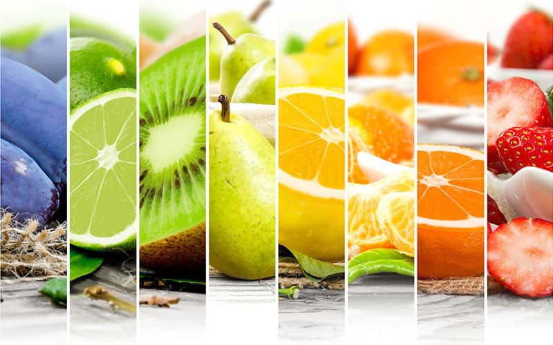 Photo of healthy fruits